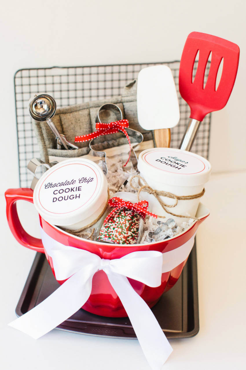 Cookie baskets perfect for all bakers out there.