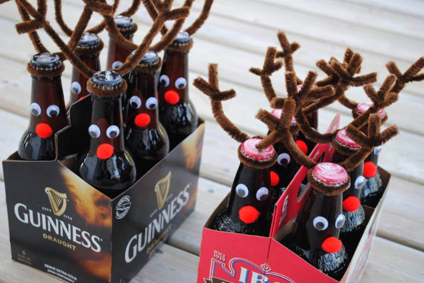 Reinbeers to make a festive holiday.