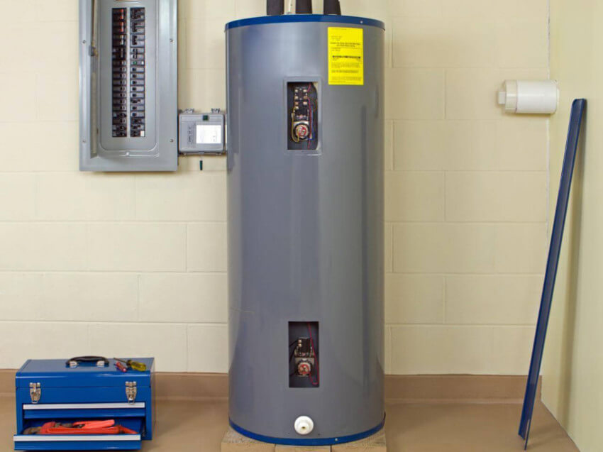 the water heater may be the source of your problems.