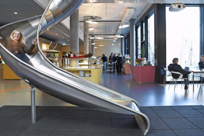 Any office can benefit with slides!