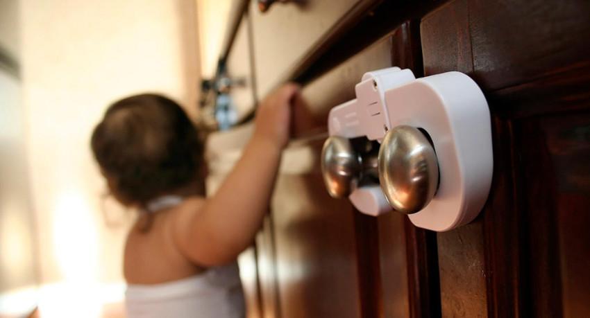 Keep cabinets locked for precaution.