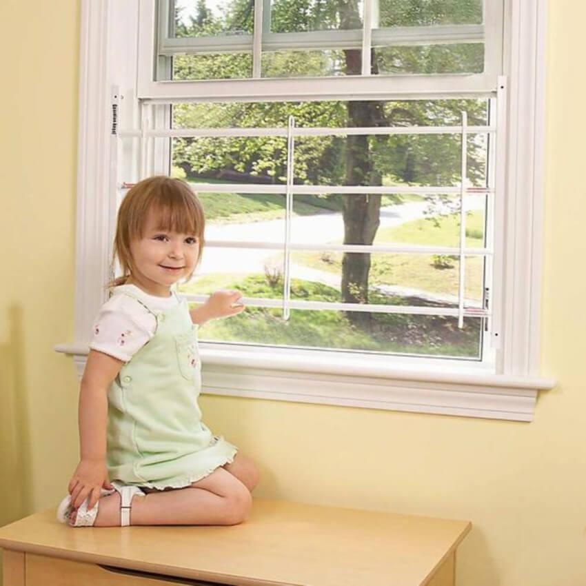 A window guard is guaranteed protection.