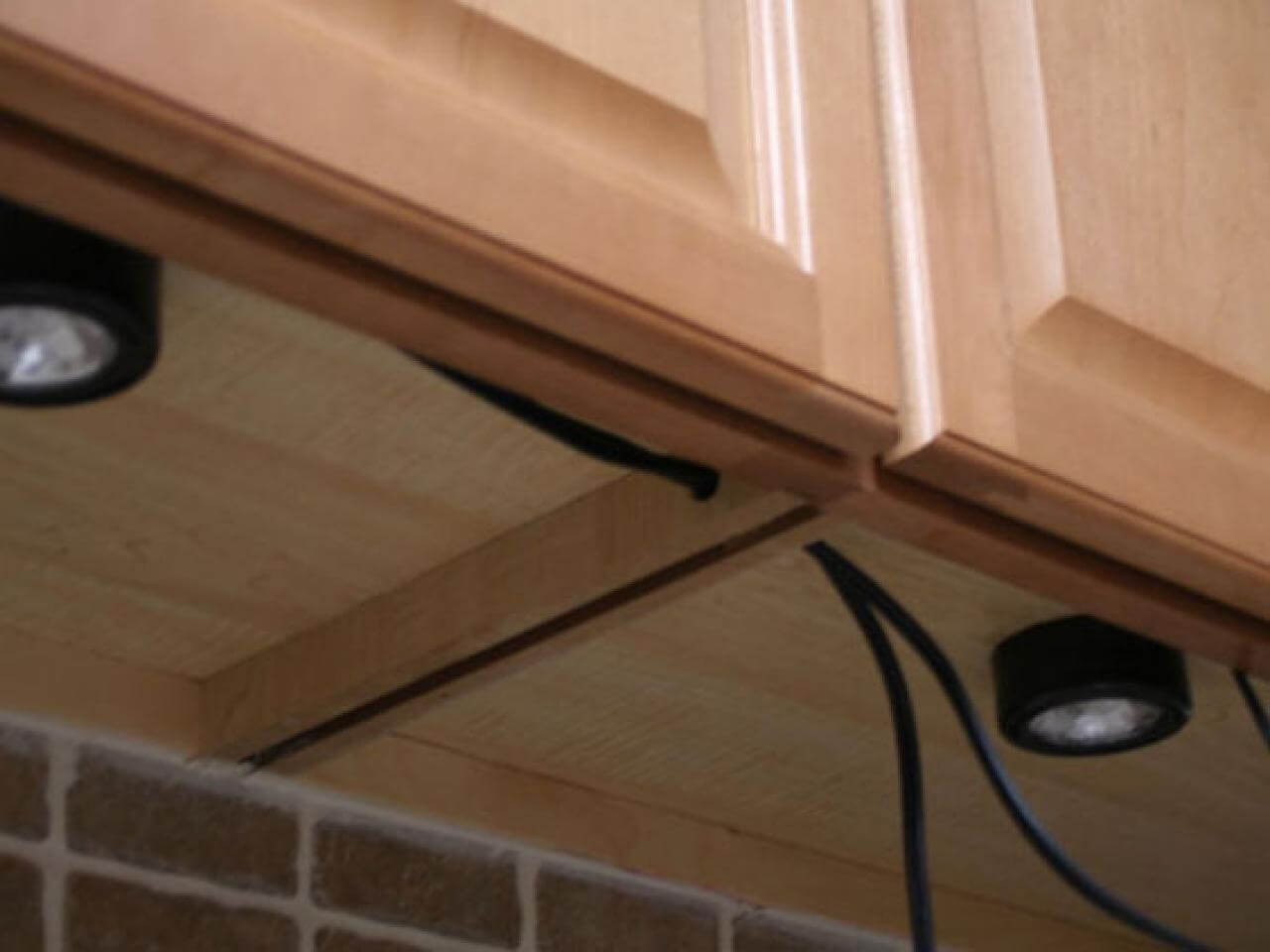Under cabinet lighting can solve a few issues