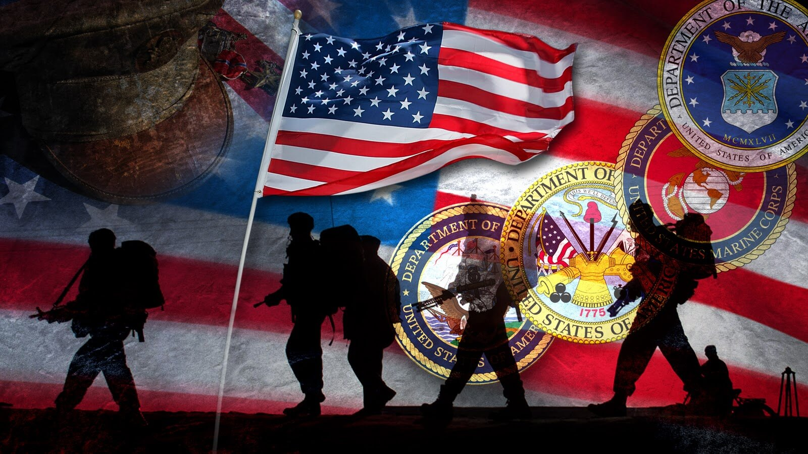 No matter what branch of the military, honor all who serve