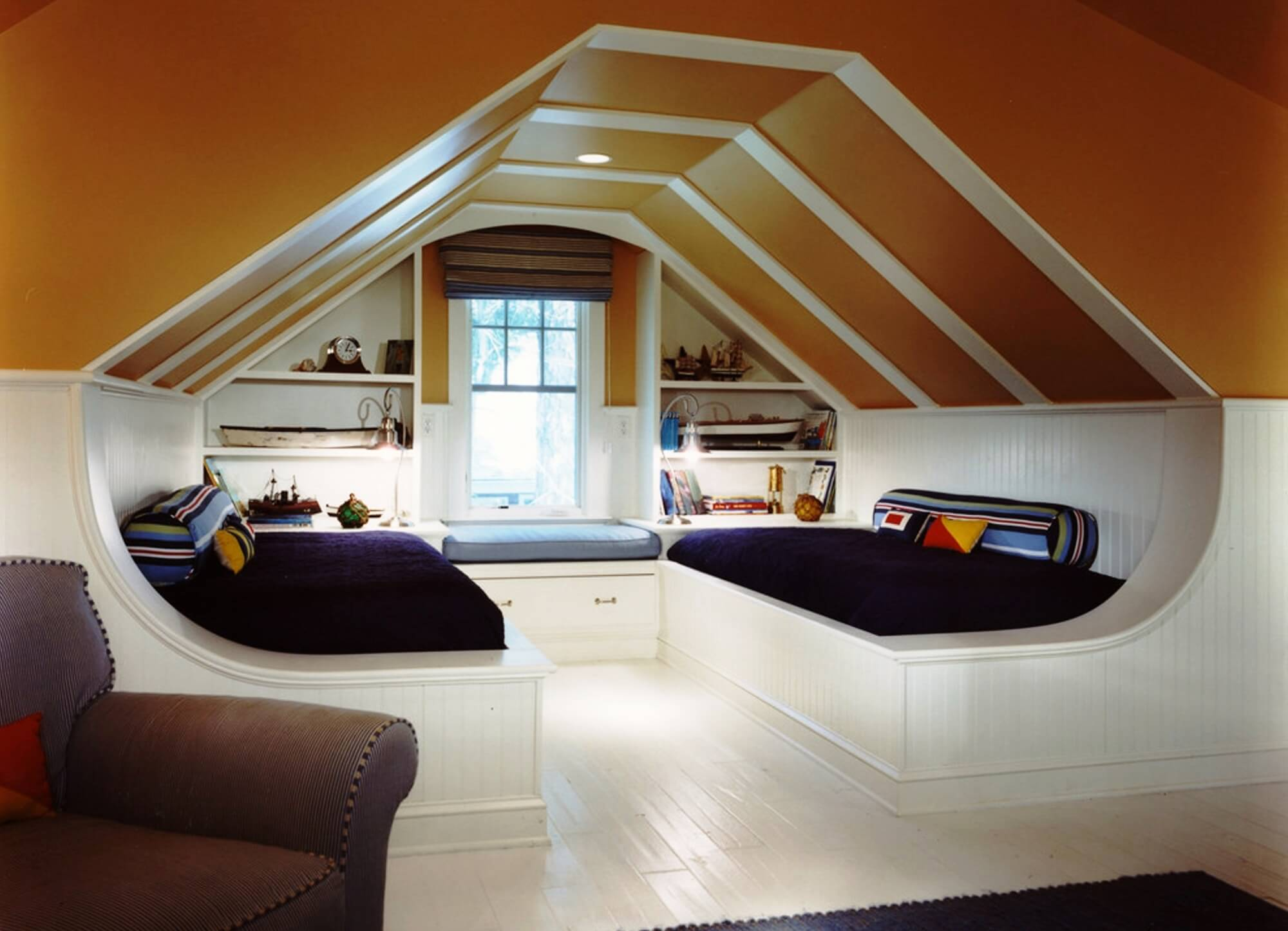 Even the attic can be converted