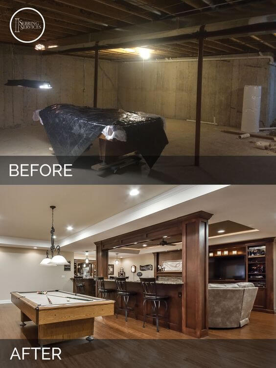 Here's a great before/after remodeling pic