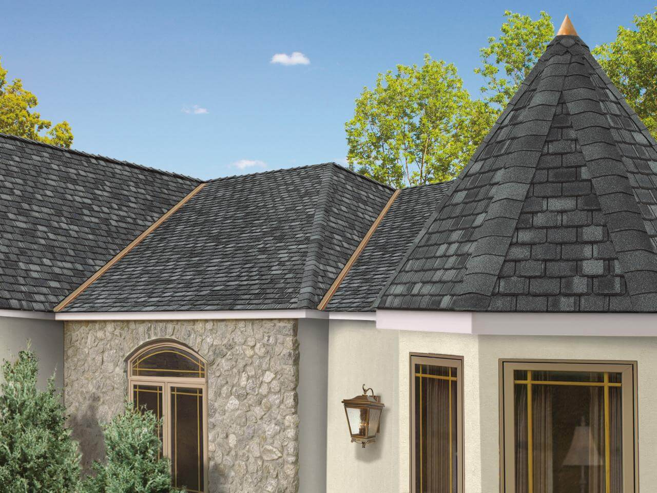 The roofing is important for any structure
