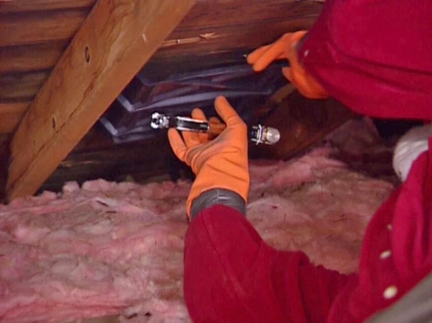 Insulation is the most efficient method to keep a warm home.