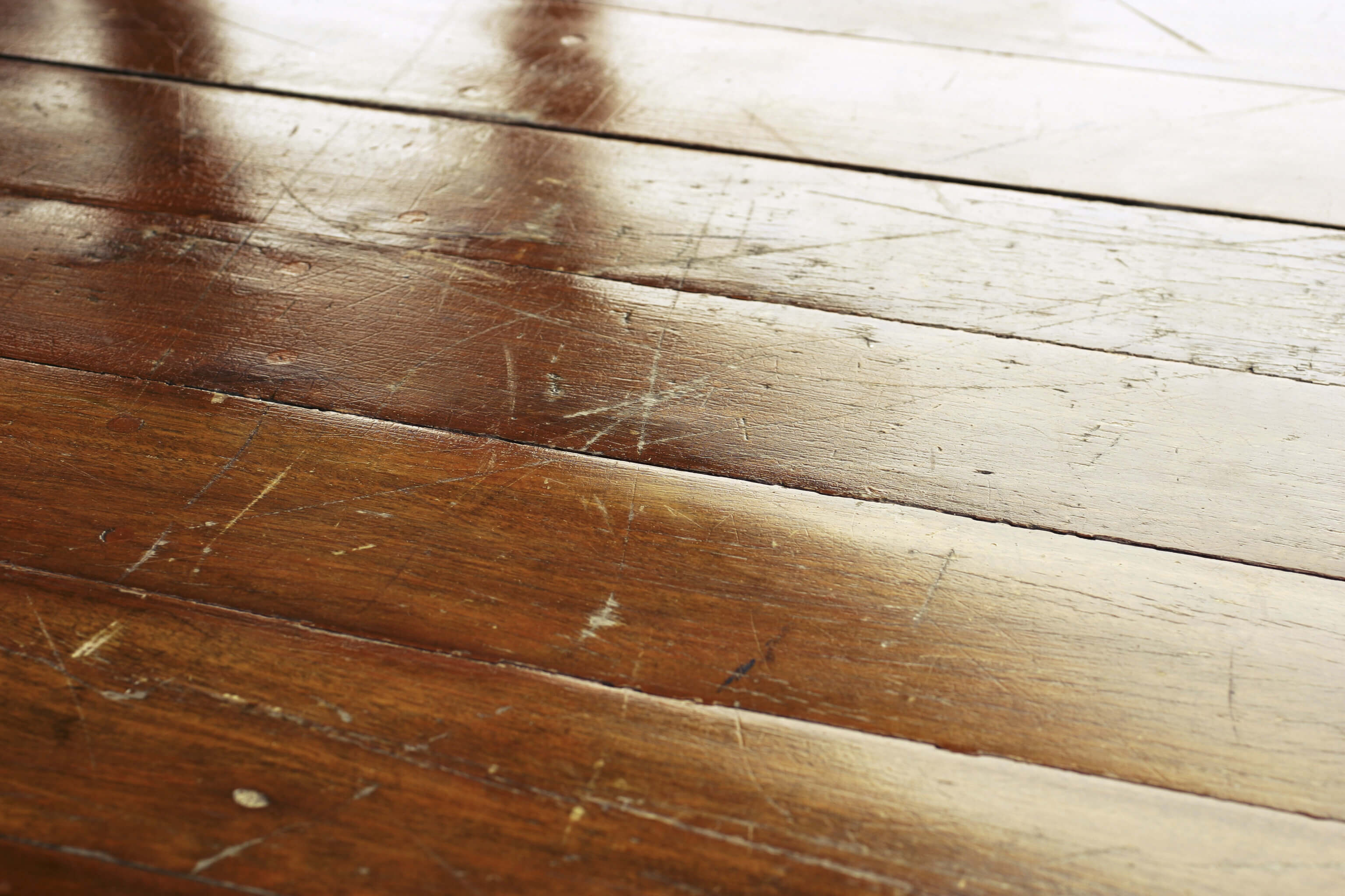 Hardwood looks great but is not immune to scratches