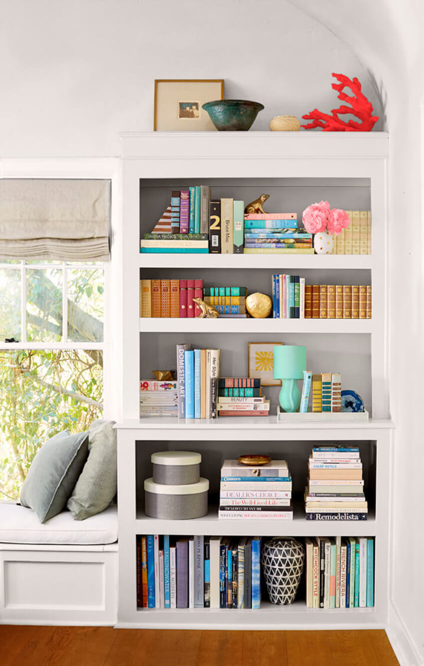 Your home library will finally be in full display.