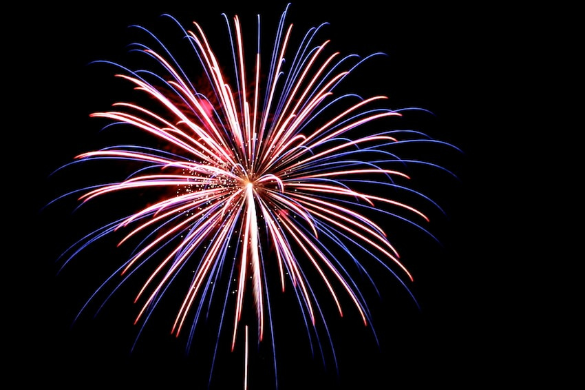 Exterior fireworks are fun to watch, but what about the furry friends in your home?
