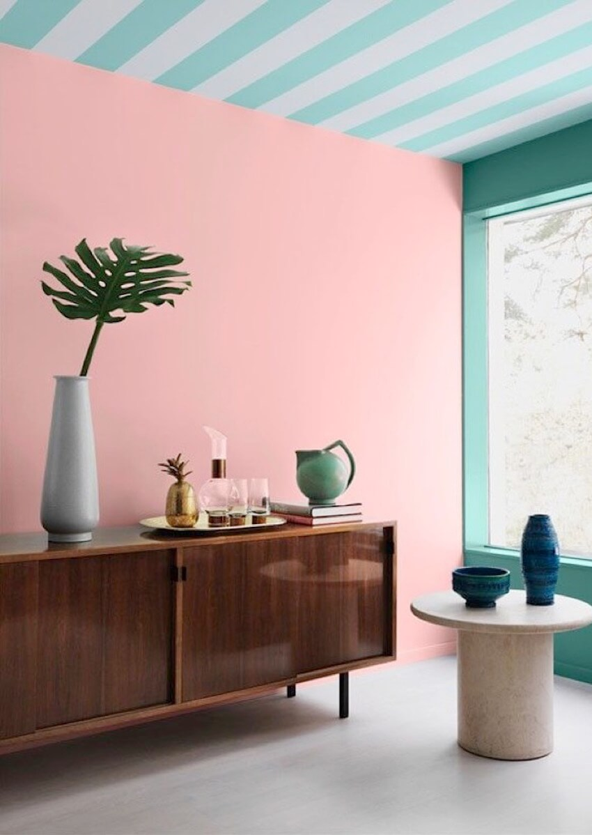 Start by painting a corner of your room in pastels to see if you truly like it.