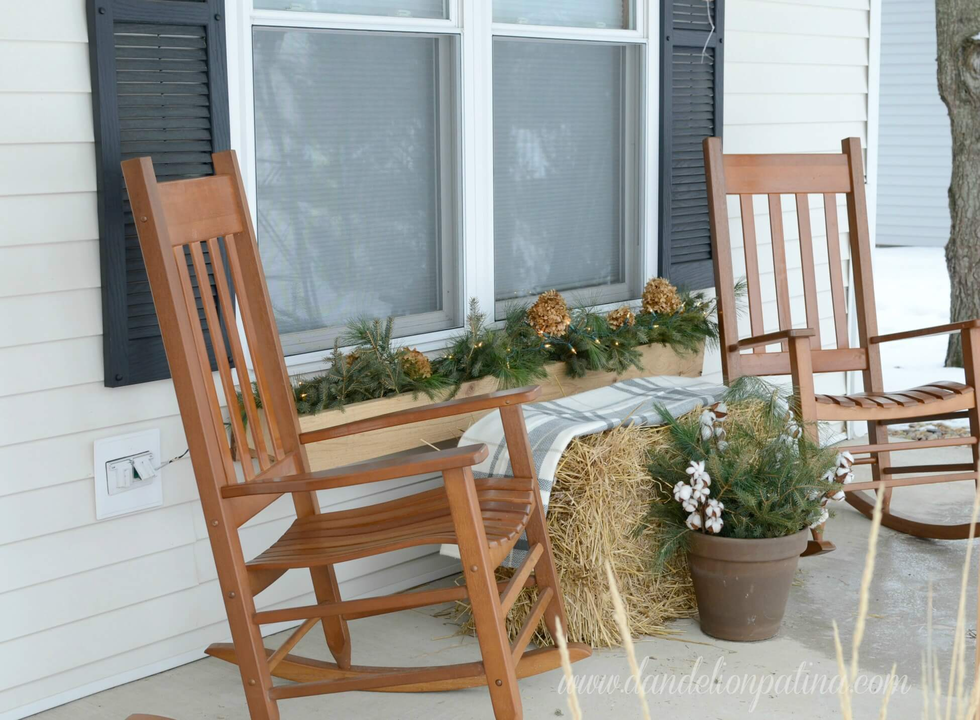 Don't forget the porch decor!
