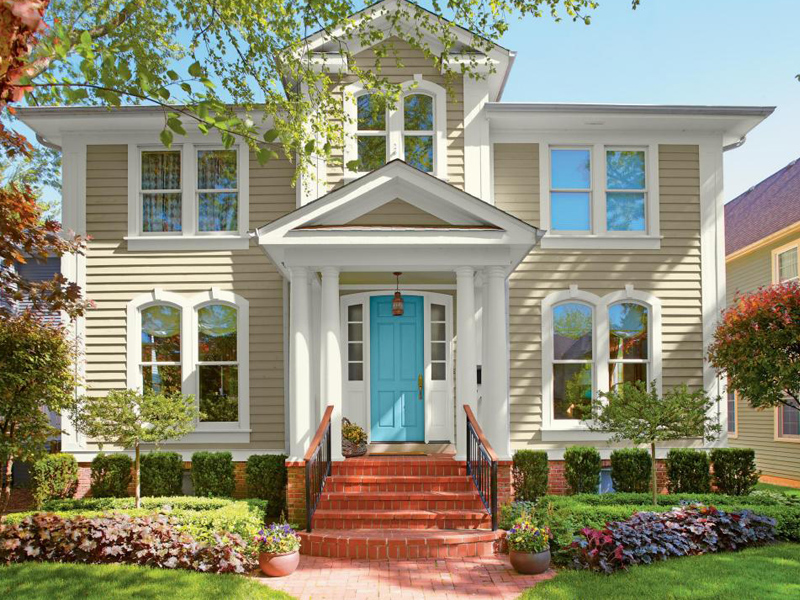 Improve the Curb Appeal of Your Home Exterior with this One Color!