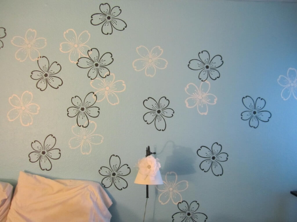 Stencil in your own designs for a personalized touch