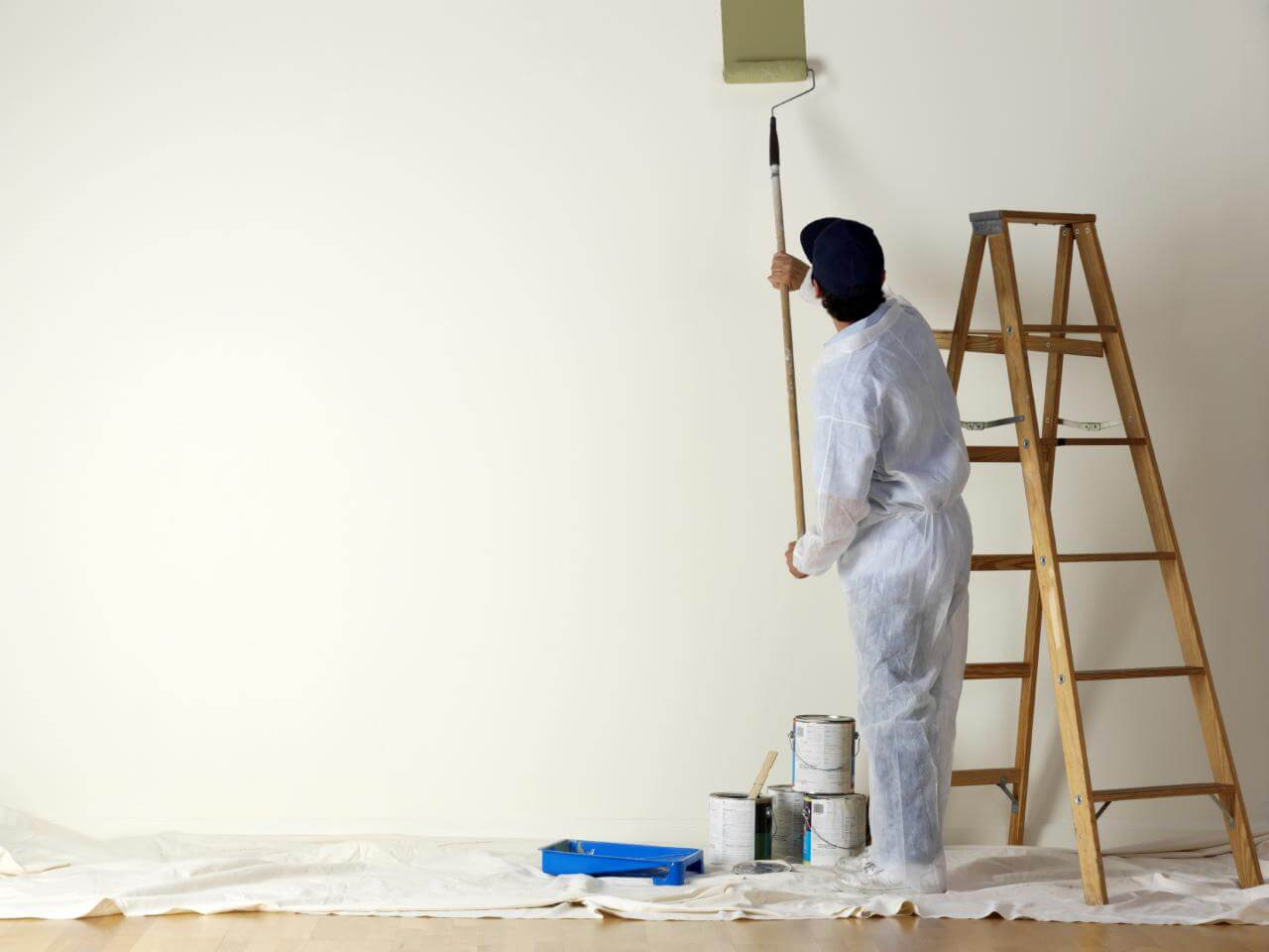 Painting over walls in your home is a great way to boost value