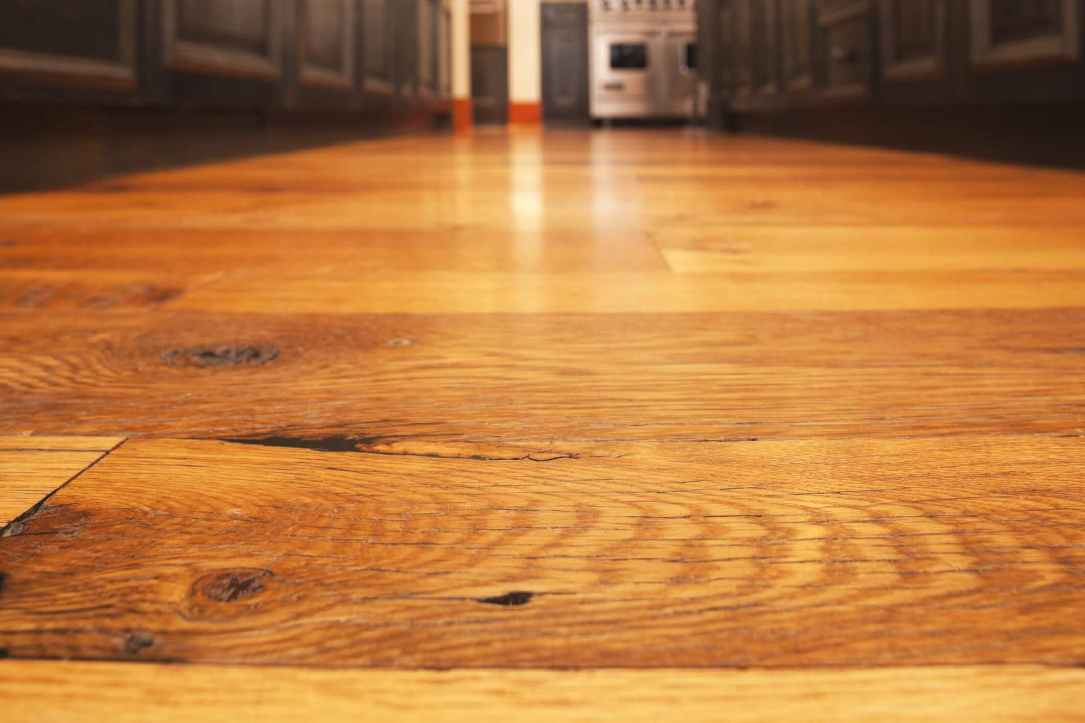 Hardwood floors may cause an issue depending on how dense the wood is