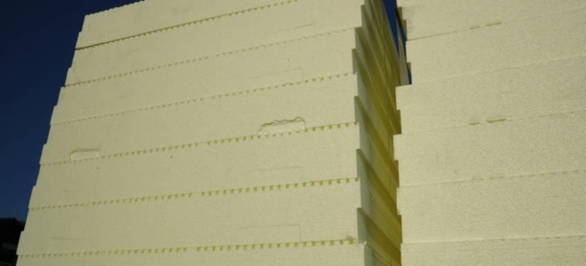 Foam board insulation.
