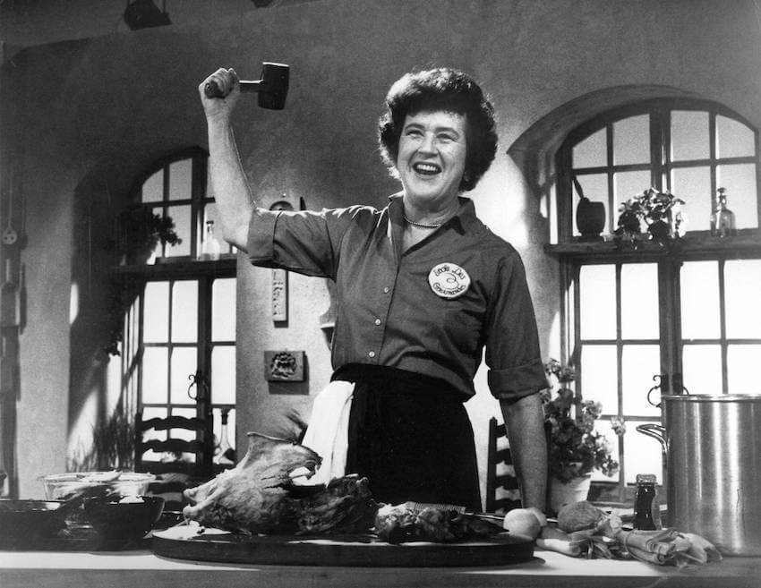 Julia child's provence home kitchen is for rent on airbnb