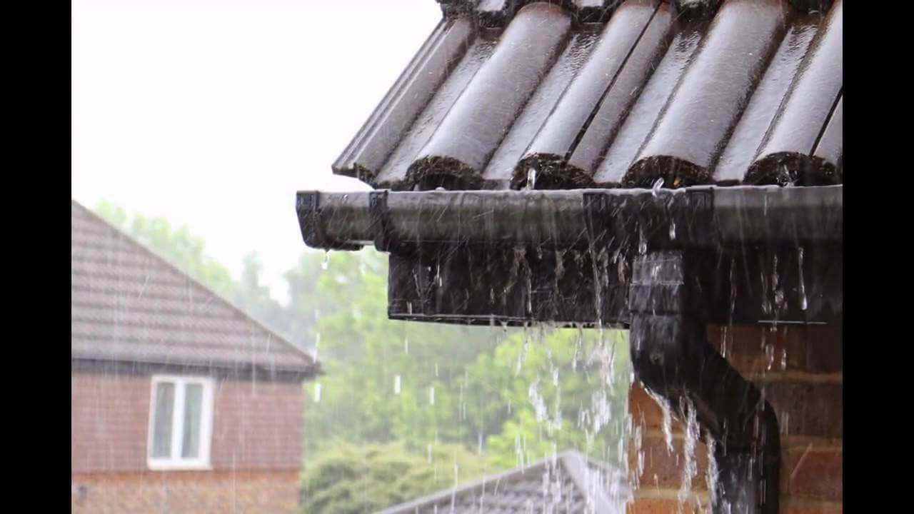 Beautiful copper gutters can collect rainwater.