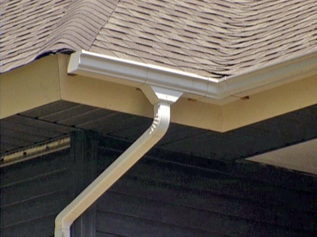 Gutters protect you home's foundation