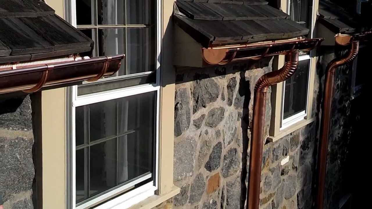 What home is complete without gutters?