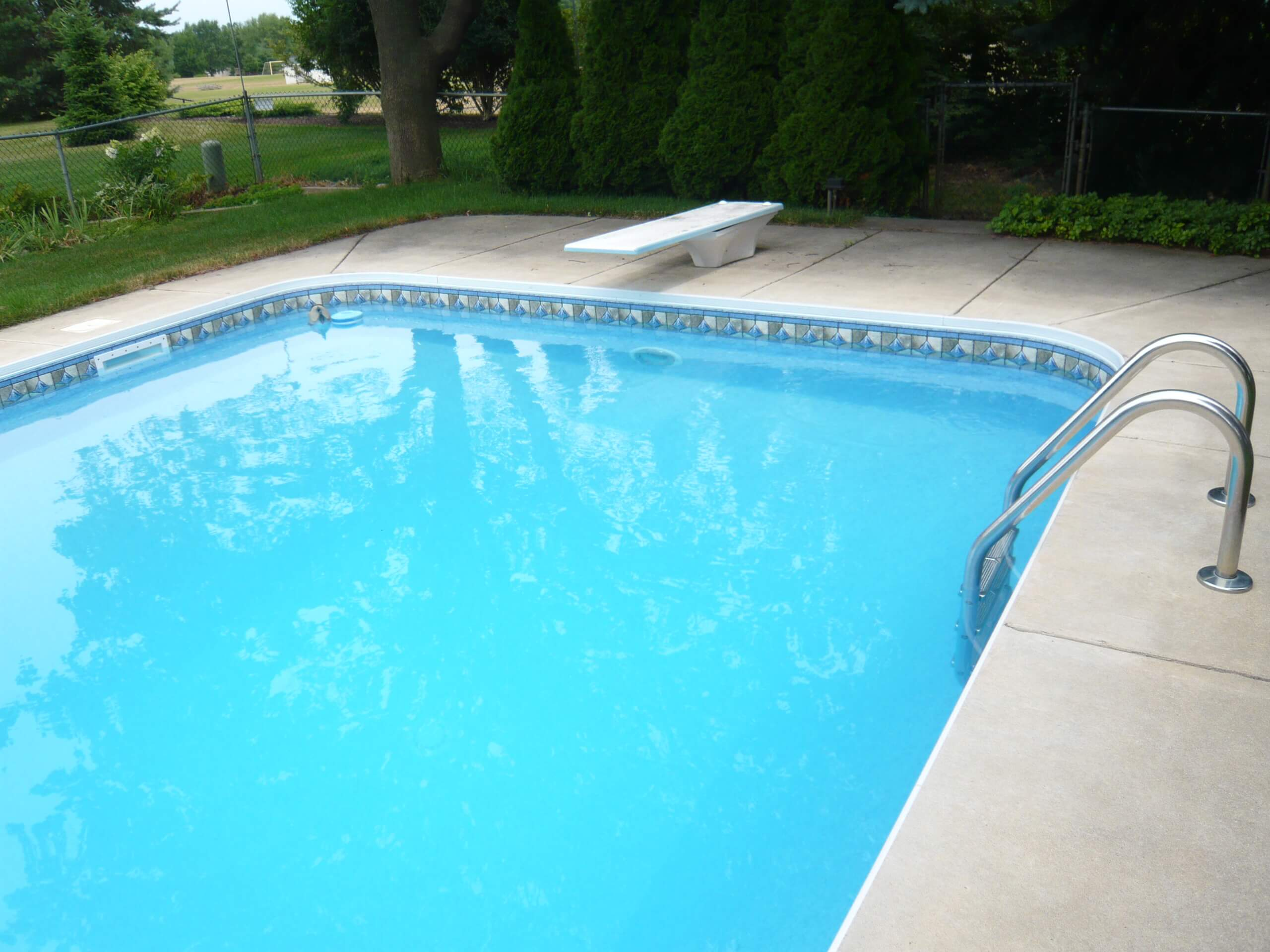 Making sure the building materials of your pool are safe