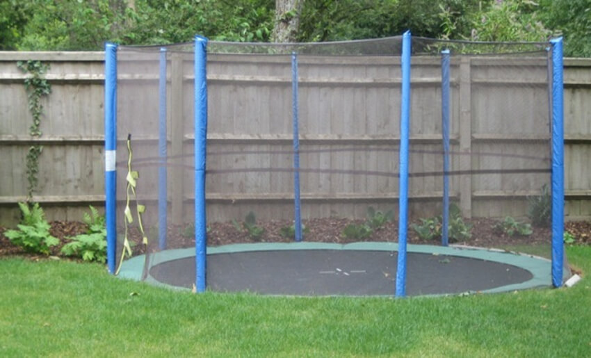 In-Ground trampoline for the greatest fun.