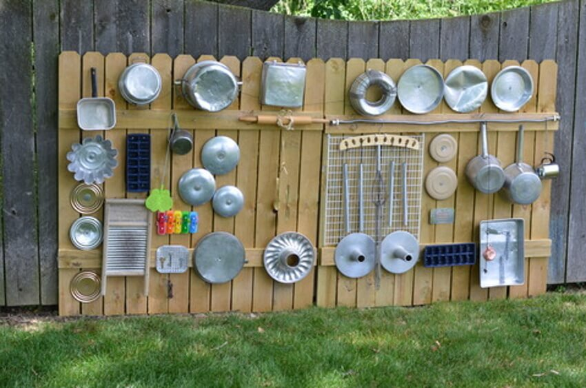 Music wall to get creative.
