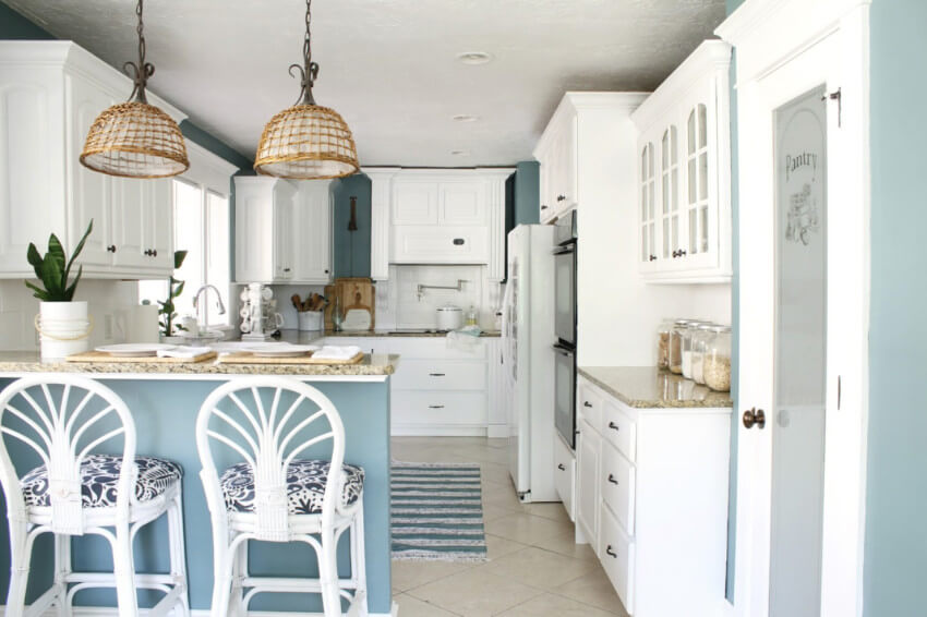 Painting is an easy way to update the look of your house.