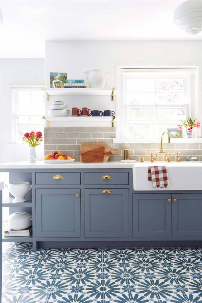 Statement tiles are a must!