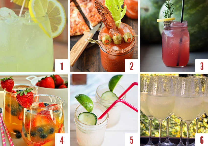The best drinks, cocktails and mocktails picks for your Labor Day barbecue!