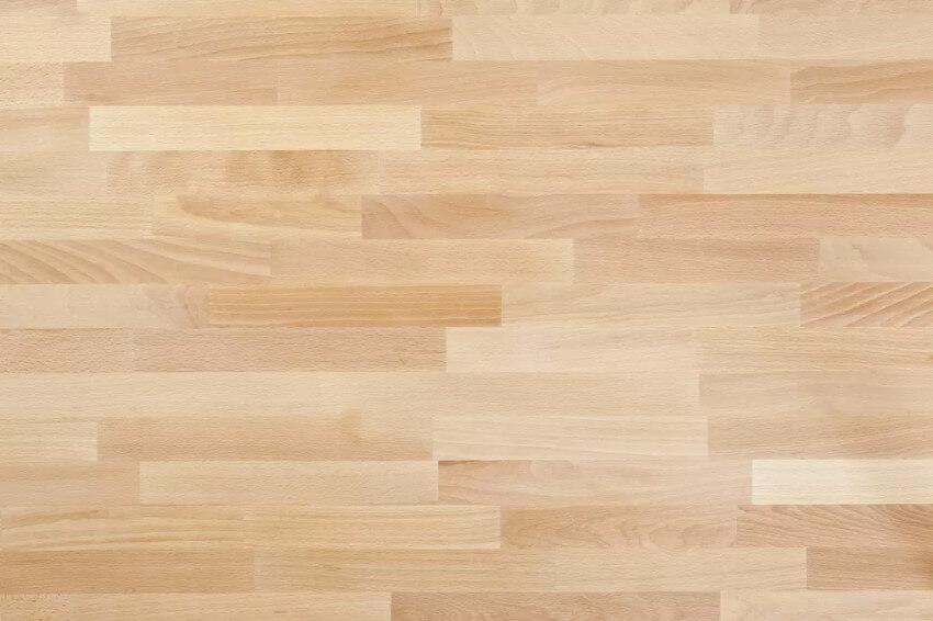 Laminate can replicate hardwood.