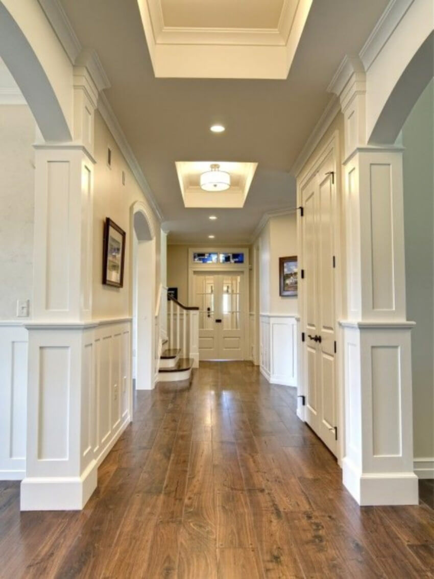 Hardwood is the best flooring type to boost resale value.