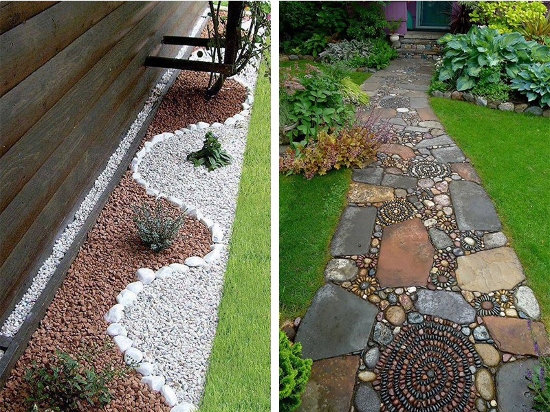 How Pebbles and Stones Add Creativity to Landscaping