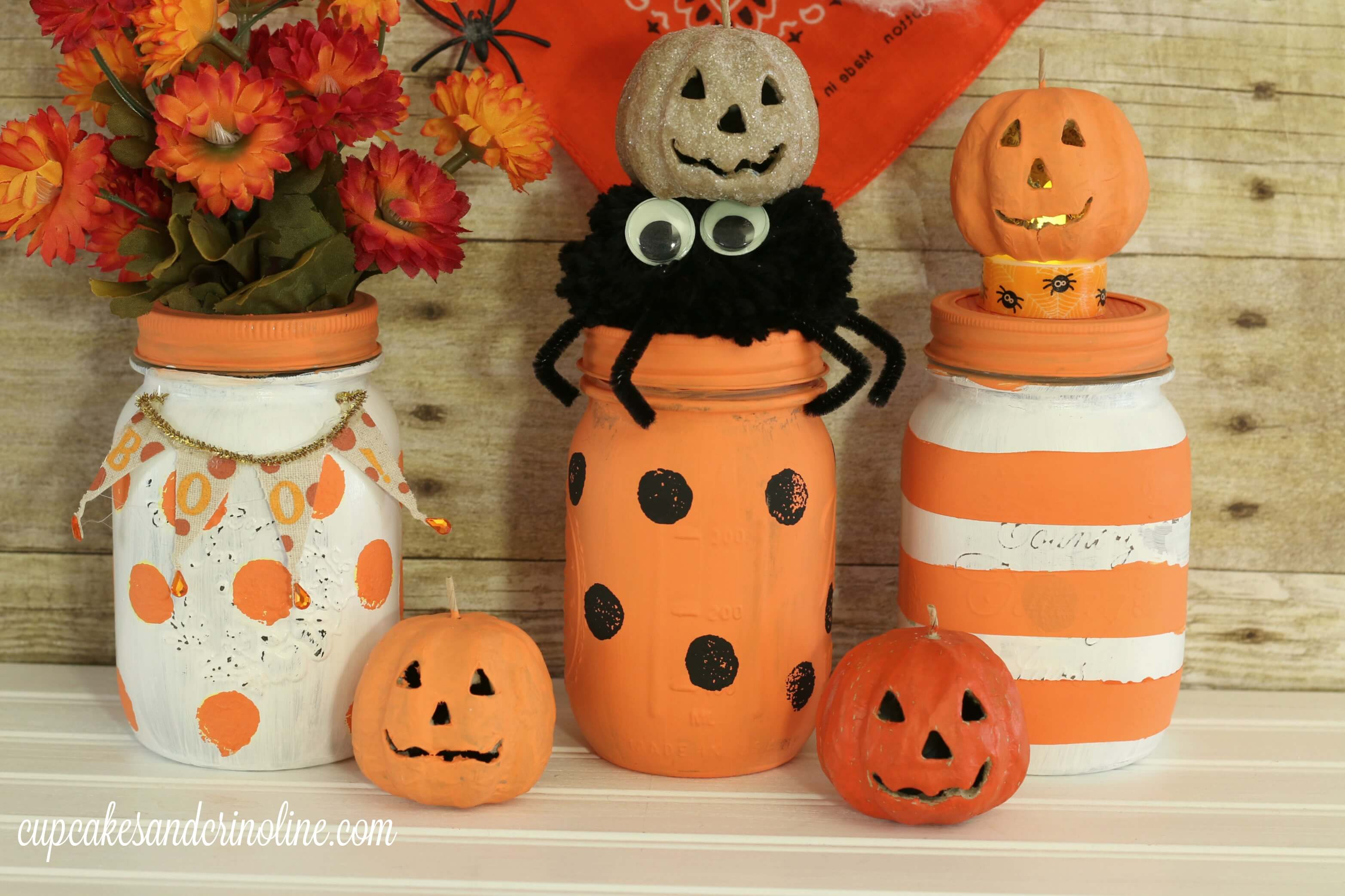 Mason jars make for some of the best DIY projects