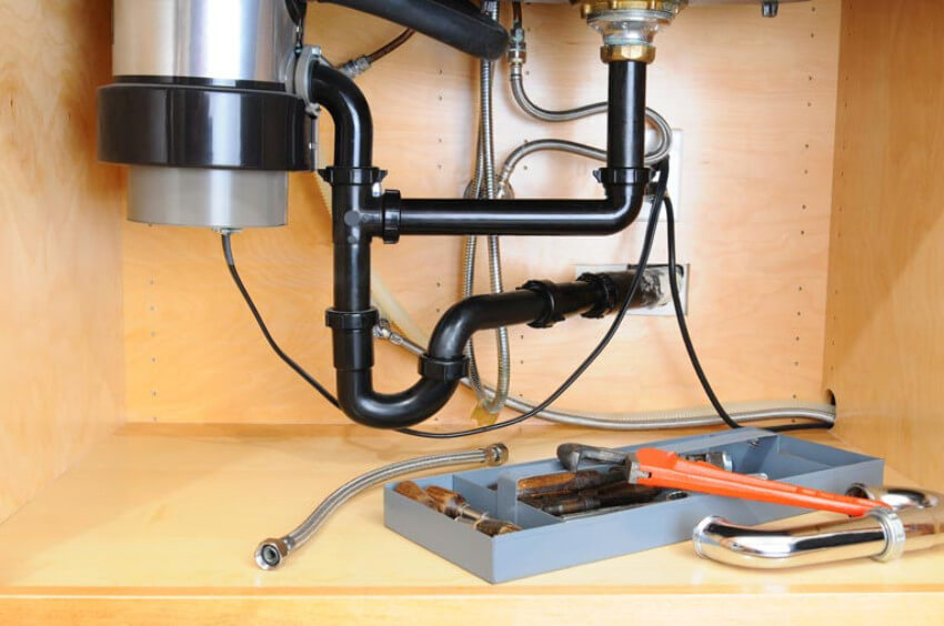 If your garbage disposal isn't working properly, a plumber will fix it.