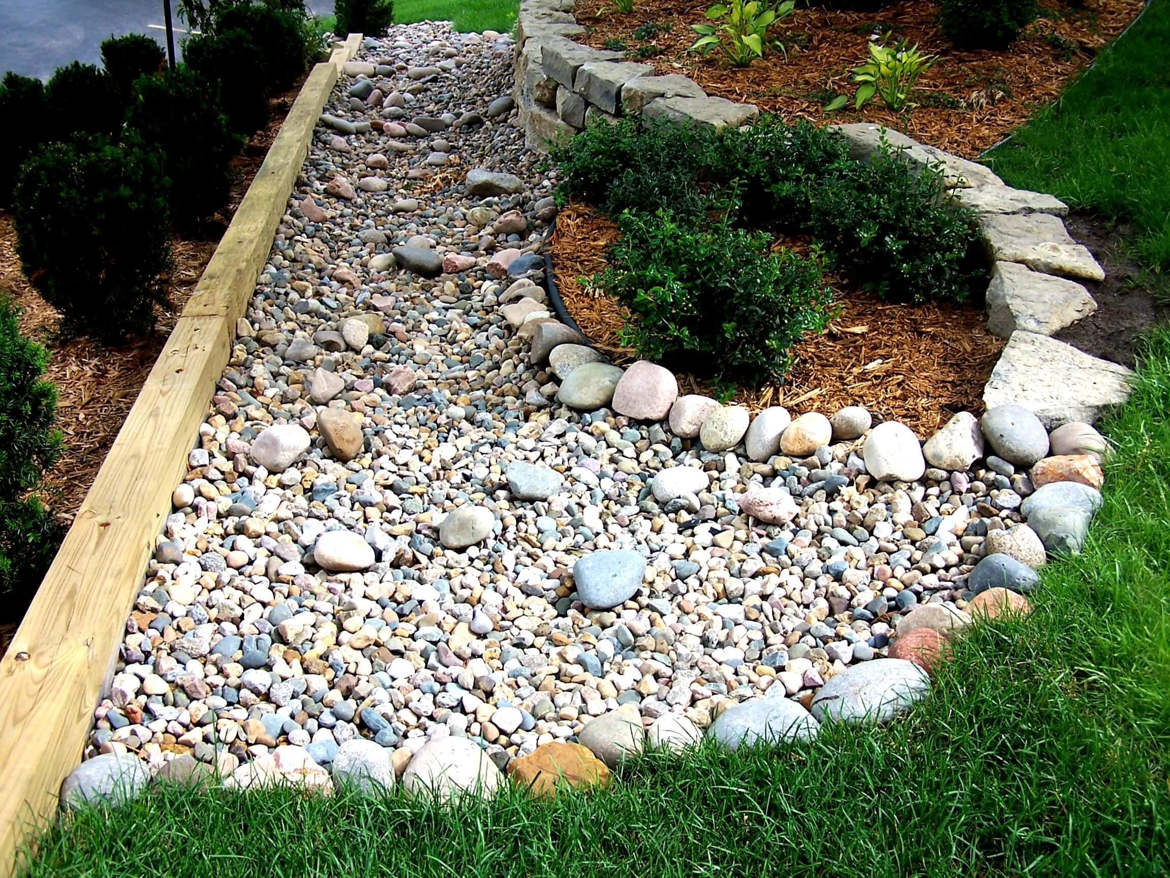 Rocks provide a lot of opportunities