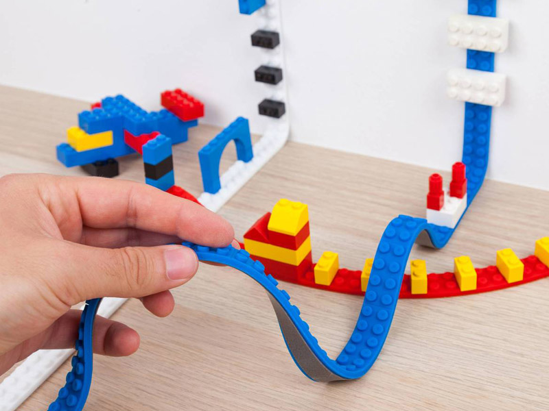 Decorate Your Home with LEGOs Using LEGO Tape!