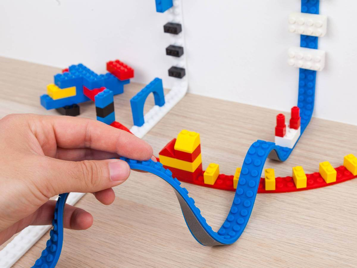 Lego tape allows you to fully customize your home decor and play experience