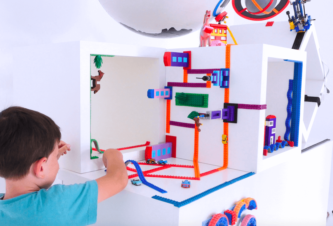 There's no wrong way to build with LEGOs.