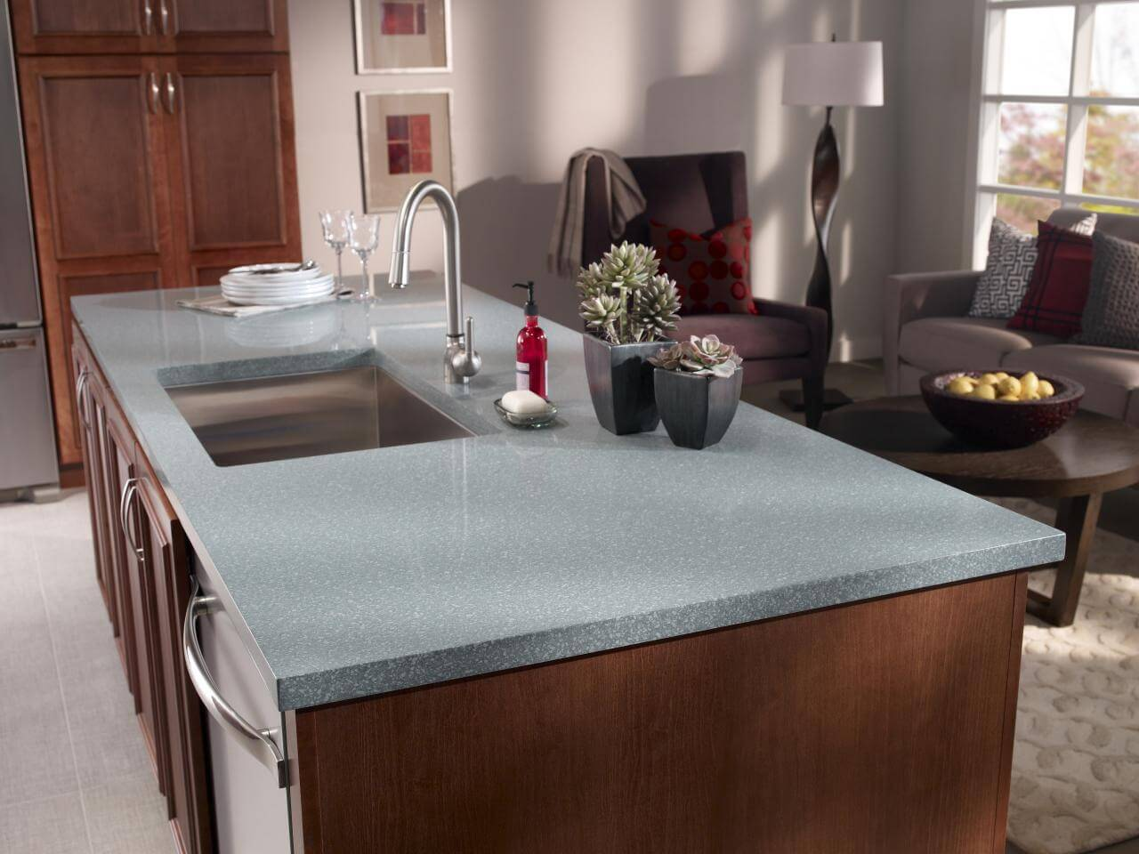 Nothing quite beats the look of granite countertops