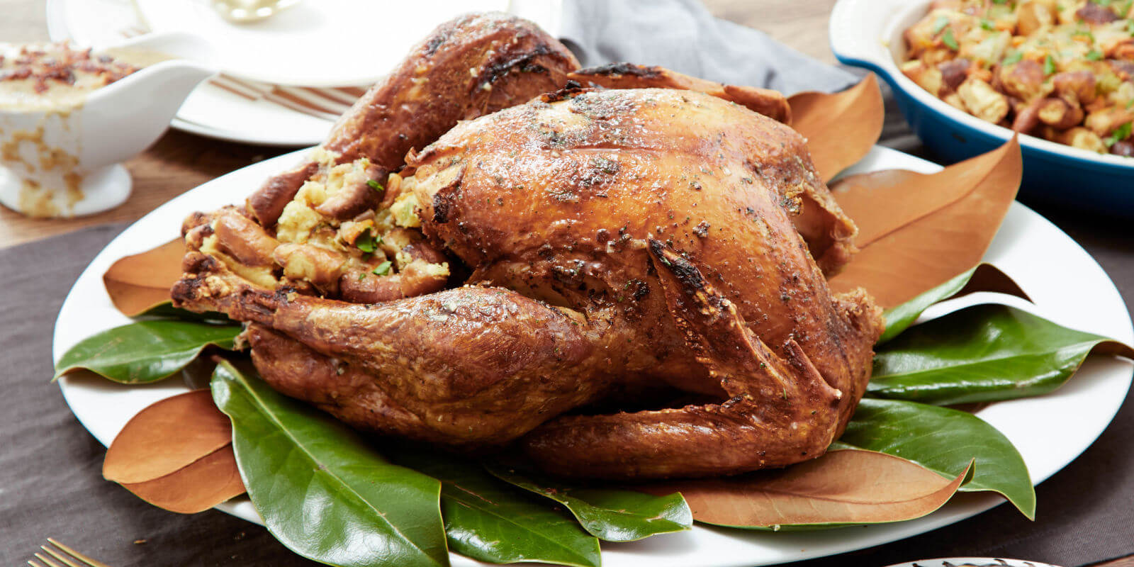 Try out some new ideas when cooking turkey