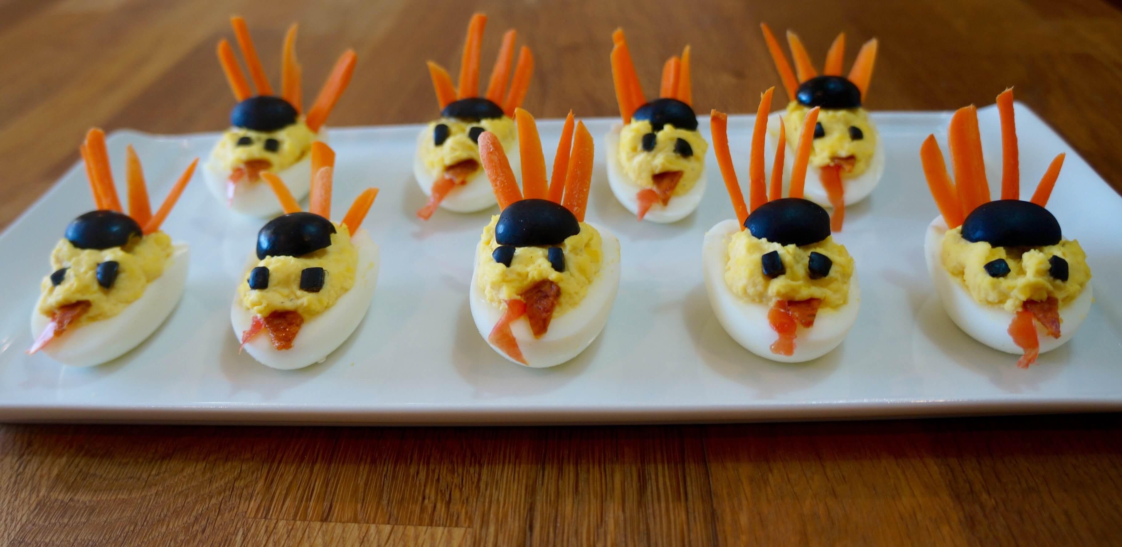 Tiny turkey edible army!