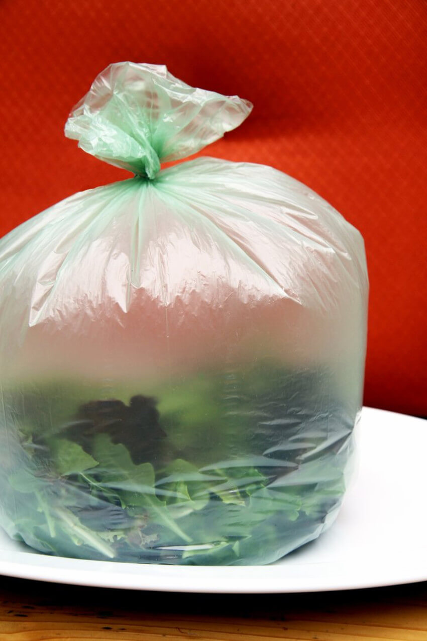 This simple trick will keep your salad greens crips!
