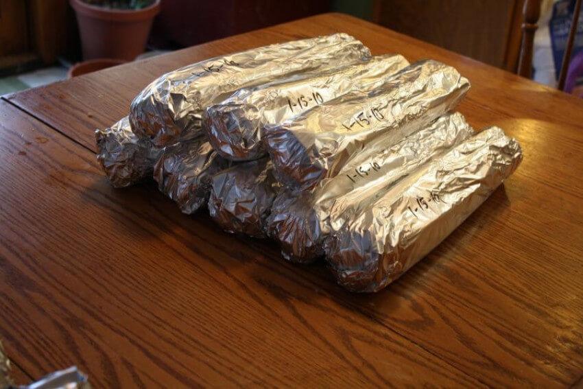 Aluminum foil will help make your celery last longer!
