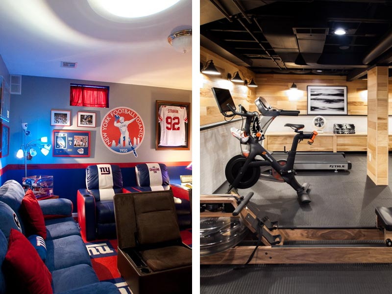 5 Ways to Turn Your Basement into a Man Cave