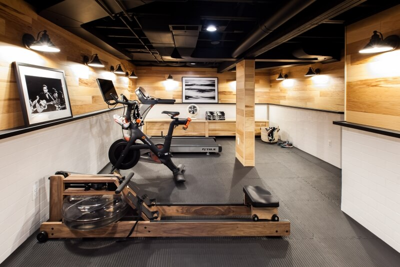 Work out in the privacy of your own home