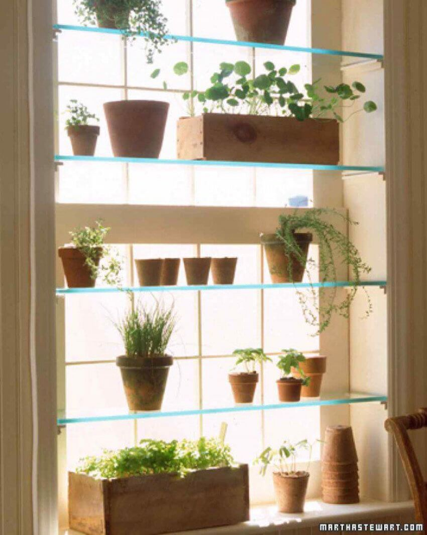 Glass Window DIY: There's no excuse for not having more of nature on your house, everybody can make it work.