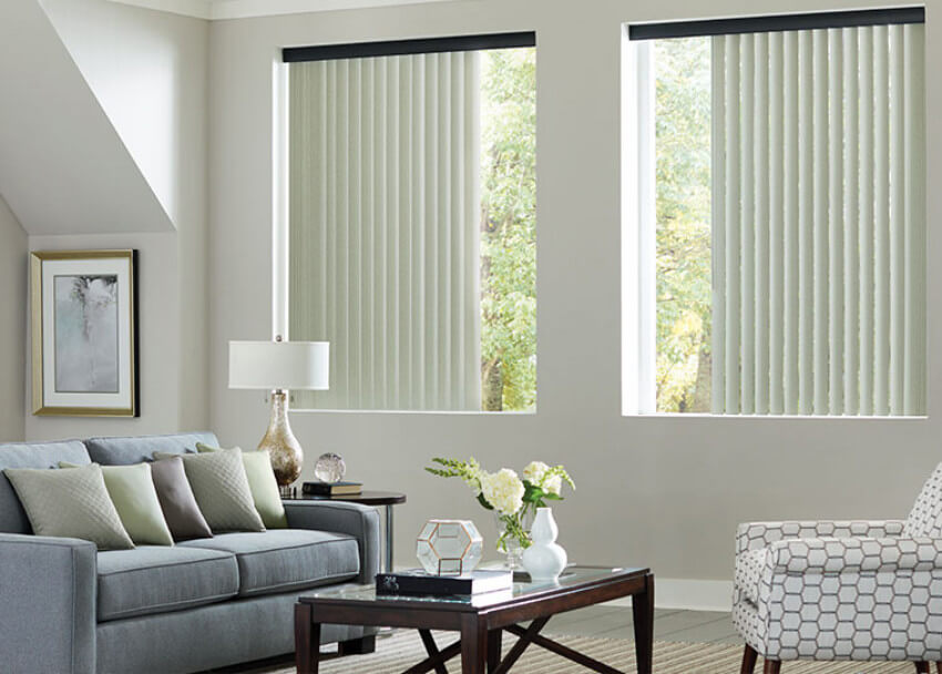 While vertical blinds aren't the end of the world, there are always better options.